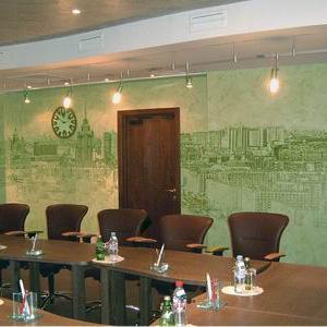 Панорамная роспись в конференцзале
