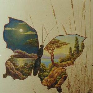 Серия прозрачные бабочки. Фрагмент
